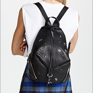 Rebecca Minkoff Julian backpack with charms